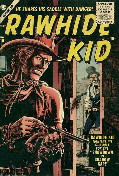 Cover for Rawhide Kid (Marvel, 1955 series) #10