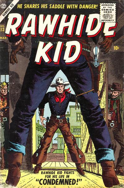 Cover for Rawhide Kid (Marvel, 1955 series) #13