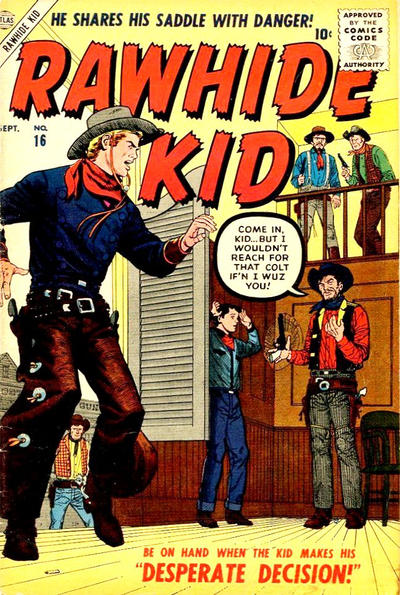 Cover for Rawhide Kid (Marvel, 1955 series) #16