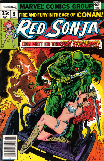 Cover for Red Sonja (Marvel, 1977 series) #9