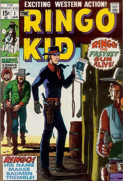 Cover for The Ringo Kid (Marvel, 1970 series) #1