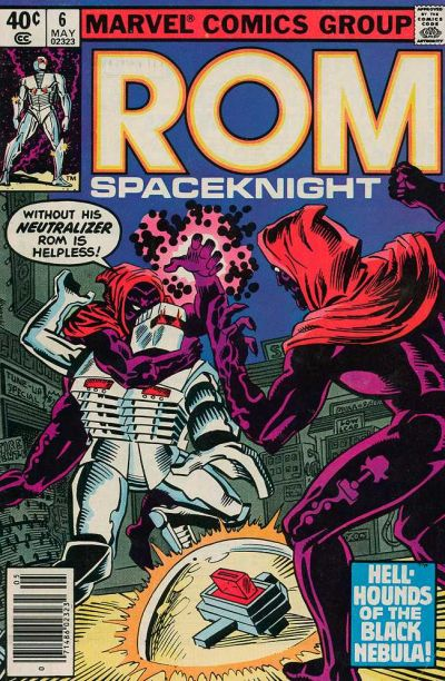 Cover for ROM (Marvel, 1979 series) #6 [Newsstand Edition]