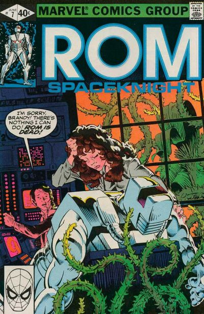 Cover for ROM (Marvel, 1979 series) #7 [Direct Edition]
