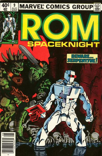 Cover for ROM (Marvel, 1979 series) #9 [Newsstand Edition]