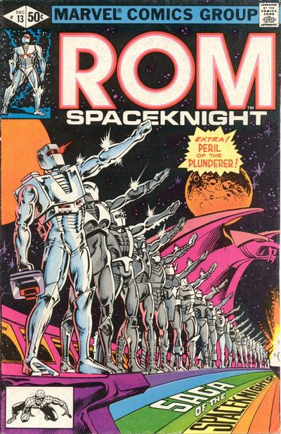 Cover for ROM (Marvel, 1979 series) #13 [Newsstand Edition]