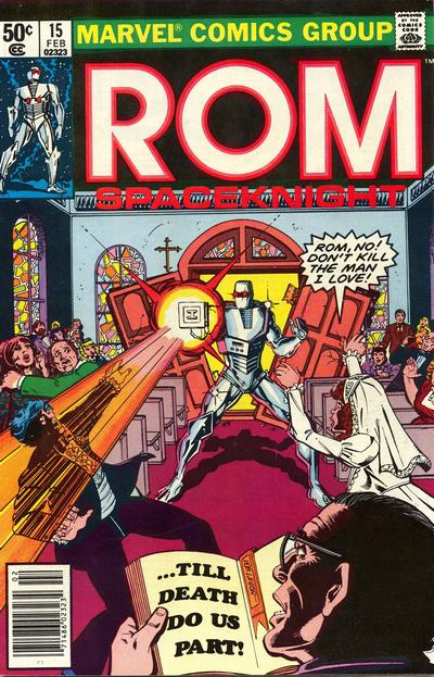 Cover for ROM (Marvel, 1979 series) #15 [Newsstand Edition]