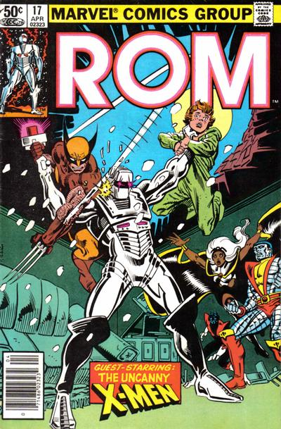 Cover for ROM (Marvel, 1979 series) #17 [Newsstand Edition]