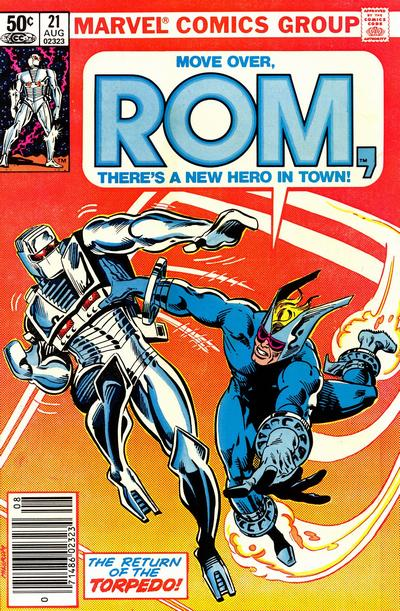 Cover for ROM (Marvel, 1979 series) #21 [Direct Edition]