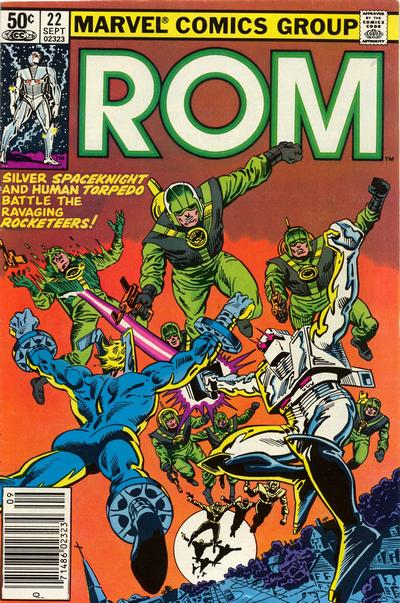 Cover for ROM (Marvel, 1979 series) #22 [Newsstand Edition]