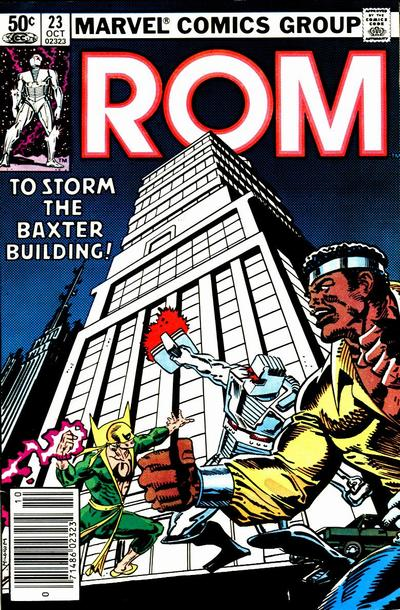 Cover for ROM (Marvel, 1979 series) #23 [Newsstand Edition]