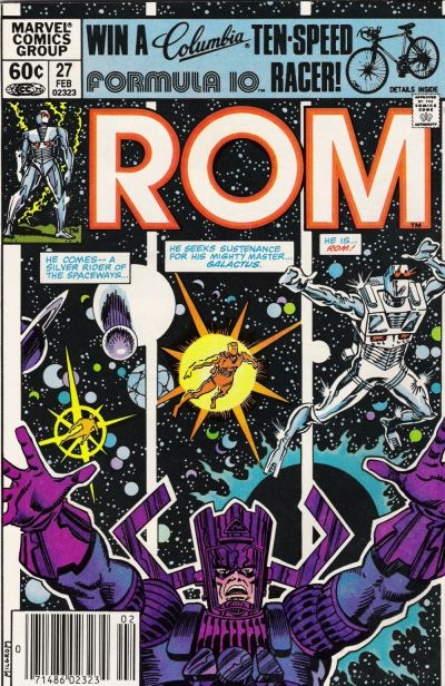 Cover for ROM (Marvel, 1979 series) #27 [Direct Edition]
