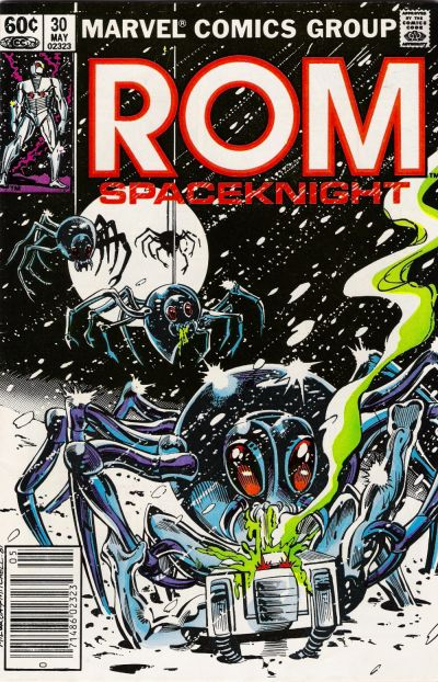 Cover for ROM (Marvel, 1979 series) #30 [Newsstand Edition]