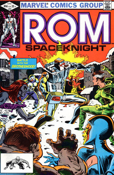 Cover for ROM (Marvel, 1979 series) #31 [Direct Edition]