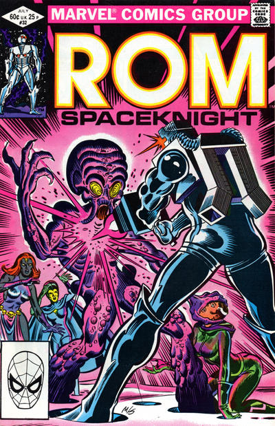 Cover for ROM (Marvel, 1979 series) #32 [Direct Edition]