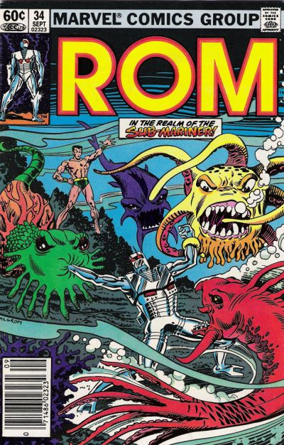 Cover for ROM (Marvel, 1979 series) #34 [Direct Edition]