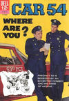 Cover for Car 54, Where Are You? (Dell, 1962 series) #3