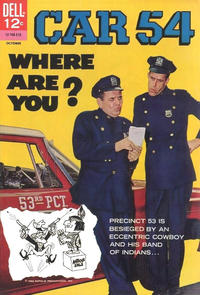 Cover Thumbnail for Car 54, Where Are You? (Dell, 1962 series) #3