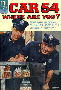 Cover Thumbnail for Car 54, Where Are You? (Dell, 1962 series) #6