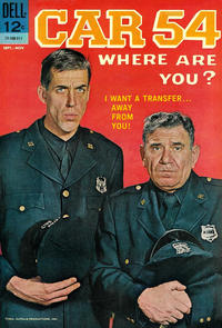 Cover Thumbnail for Car 54, Where Are You? (Dell, 1962 series) #7