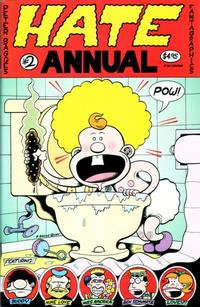 Cover Thumbnail for Hate Annual (Fantagraphics, 2001 series) #2