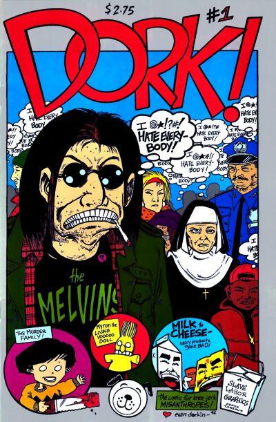 Cover for Dork (Slave Labor, 1993 series) #1