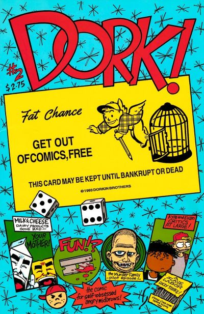 Cover for Dork (Slave Labor, 1993 series) #2
