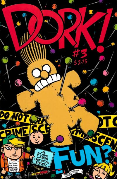 Cover for Dork (Slave Labor, 1993 series) #3