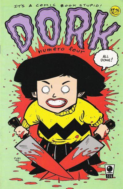 Cover for Dork (Slave Labor, 1993 series) #4