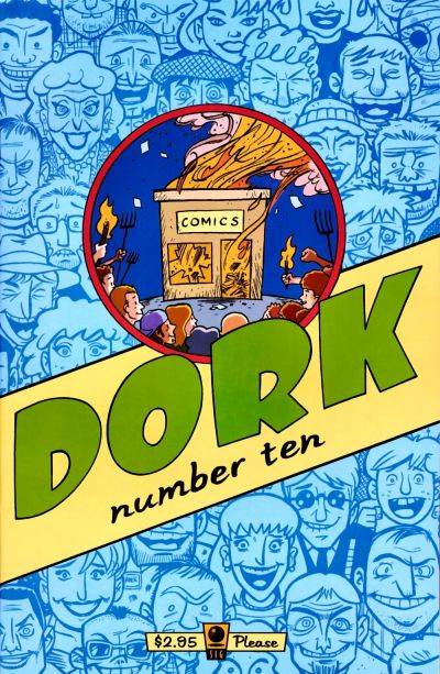 Cover for Dork (Slave Labor, 1993 series) #10