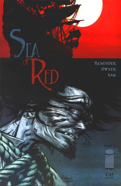 Cover for Sea of Red (Image, 2005 series) #1