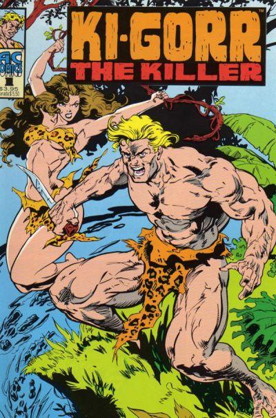 Cover for Ki-gorr the Killer (AC, 1995 series) #1