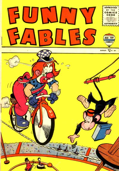 Cover for Funny Fables (Decker, 1957 series) #1
