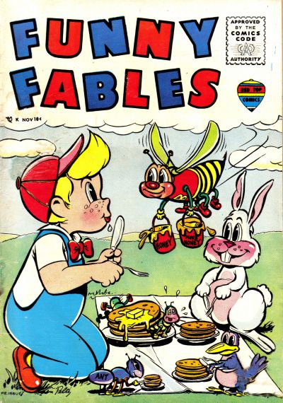 Cover for Funny Fables (Decker, 1957 series) #2