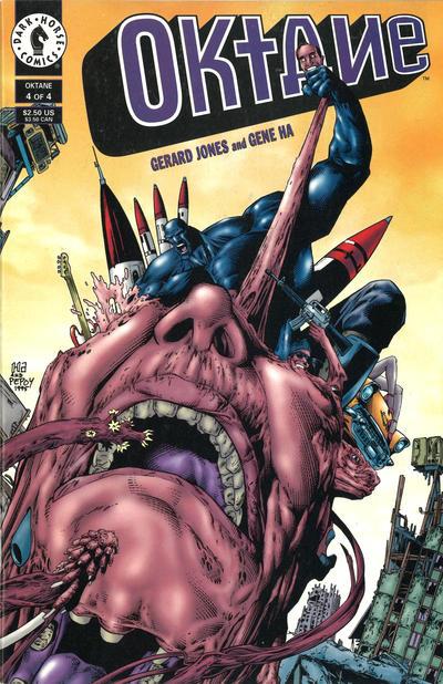 Cover for Oktane (Dark Horse, 1995 series) #4
