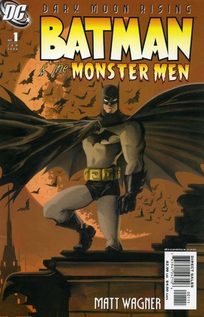 Cover for Batman: The Monster Men (DC, 2005 series) #1