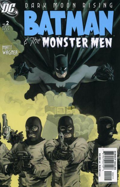 Cover for Batman: The Monster Men (DC, 2005 series) #2