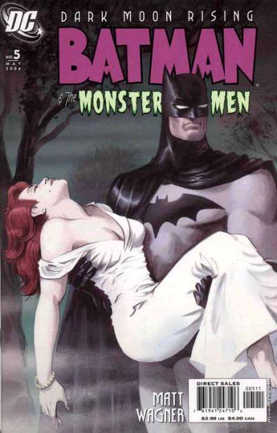 Cover for Batman: The Monster Men (DC, 2005 series) #5