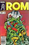 Cover Thumbnail for ROM (1979 series) #58 [Newsstand Edition]