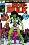 Cover for The Savage She-Hulk (Marvel, 1980 series) #1