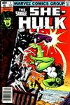 Cover Thumbnail for The Savage She-Hulk (1980 series) #3 [Newsstand Edition]