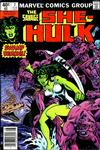 Cover for The Savage She-Hulk (Marvel, 1980 series) #7 [Newsstand]