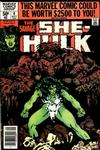 Cover for The Savage She-Hulk (Marvel, 1980 series) #8 [Newsstand]