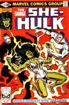 Cover for The Savage She-Hulk (Marvel, 1980 series) #12 [Direct]