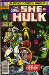 Cover for The Savage She-Hulk (Marvel, 1980 series) #14 [Newsstand]