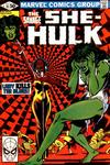 Cover for The Savage She-Hulk (Marvel, 1980 series) #15 [Direct]