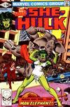 Cover for The Savage She-Hulk (Marvel, 1980 series) #17 [Direct]