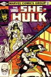 Cover for The Savage She-Hulk (Marvel, 1980 series) #19 [Direct]