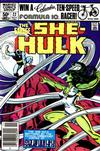 Cover for The Savage She-Hulk (Marvel, 1980 series) #22