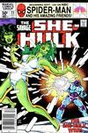 Cover for The Savage She-Hulk (Marvel, 1980 series) #23