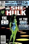 Cover for The Savage She-Hulk (Marvel, 1980 series) #25 [Newsstand]